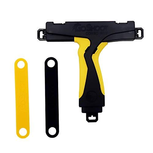 Mcbazel GoShoot Combo for Beyblade Grip Yellow (Launcher Yellow Beyblade)