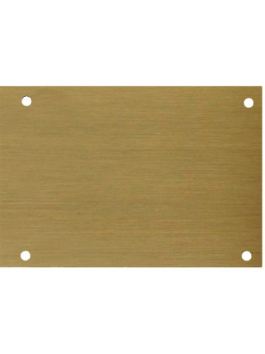 "8"" X 28"" Screw Mount Antique Brass Finish Door Kick Plate"