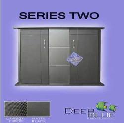 Deep Blue Professional ADB26029 Aquarium Cabinet, Series II, 30 by 12-Inch, Black/Carbon Fiber