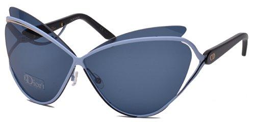 Dior 4CB Blue Gold and Black Audacieuse 1 Cats Eyes Sunglasses Lens Category - Eyes Sunglasses Dior 1