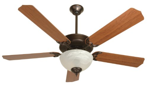 (Craftmade K10645 Oiled Bronze CD Unipack 207 CD Unipack Indoor Ceiling Fan with Five 52
