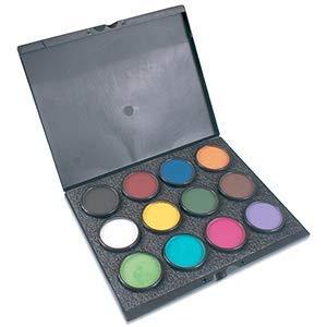Mehron Makeup- Paradise Makeup AQ ProPalette - 12 Colors ()