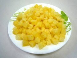 DILKHUSH Best Quality Dry Pineapple 400 Gms.