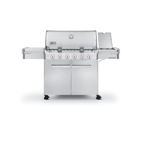 Weber 7320001 Stainless Steel 838 Square Inch Liquid Propane