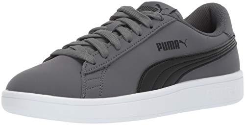 PUMA Men's Smash v2 Buck Sneaker, Iron gate Black, 8 M - Sneaker Buck