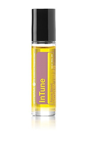 doTERRA - Intune Essential Oil Focus Blend Roll On - Supports Enhanced, Sustained Sense of Focus; Supports Efforts to Pay Attention or Stay On Task; for Topical Use - 10 mL by DoTerra