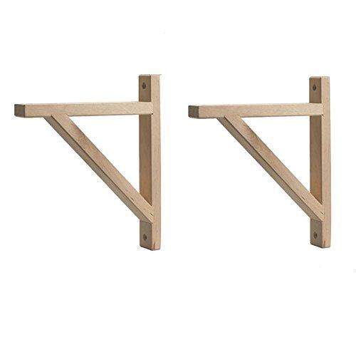 - IKEA Ekby Valter Wood Shelves Bracket, Depth 7-Inch Birch (X2)