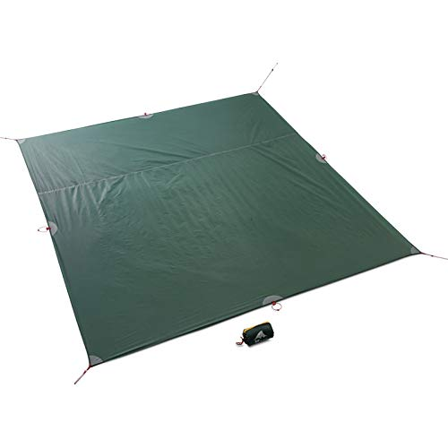 3F UL Gear Tent Floor Saver Reinforced Multi-Purpose Tarp Tent Footprint Camping Beach Picnic mat Waterproof Tarpaulin Bay Play(L)