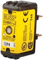 COOPER BUSSMANN TCF15 FUSE, 15A, 600V, TIME DELAY (12 pieces) by Bussmann