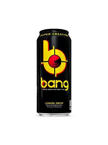 Vpx Bang, Lemon Drop, 16 Fl. Oz (12 Count) (Lemon Calories Drop)
