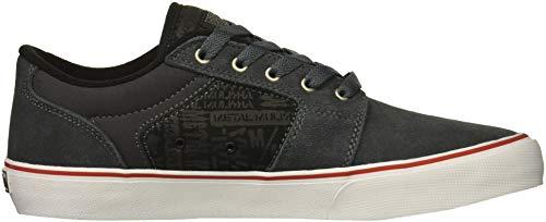 Grigio Etnies Sneakers Barge nero bianco Uomo Fashion Ls Ls wwCqaY