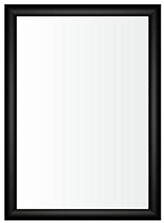 A3 Black Aluminium Snap Front Opening Poster Frame APF3B: Amazon.co ...
