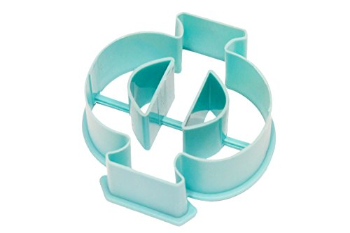Live Greek-Greek Letter Shaped Cookie Cutter-PHI Shape-Measures 3