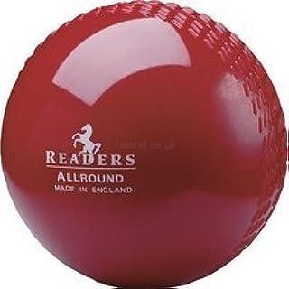 Nouveaux lecteurs Allround de cricket Sports Training & Practise recouvert de plastique Boule