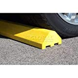Yellow Standard Parking Block with Cable Protection & Hardware - 72'' Long (4672PBY)