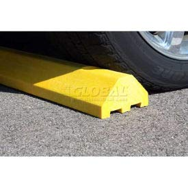Blue Standard Parking Block with Cable Protection & Hardware - 72'' Long (4672PBBL)