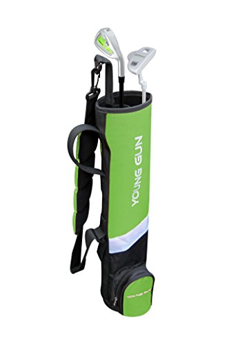Young Gun BIRDIE GREEN Junior golf club Youth Set & bag for kids Ages 12-14 - Golf Green Club Kids