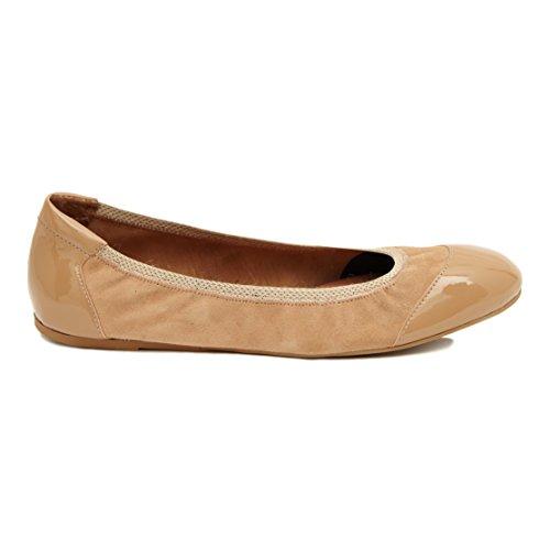 Cocorose Faltbare Schuhe - Carnaby Damen Espadrilles Antelope