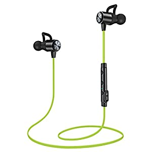 Wireless Headphones, Bluetooth Earbuds, ATGOIN Lightweight Bluetooth Earbuds, Sweatproof Stereo Wireless Earphones Noise Cancelling Wireless Earbuds Fit for Gym Sports with Built-in Mic