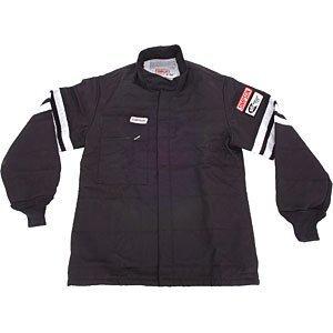 Simpson 0302312 Black Large Standard-6 Single Layer Driving Jacket (Single Layer Jacket)