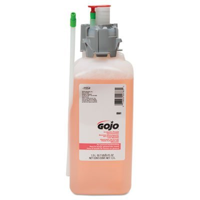 GOJO : CX and CXI Luxury Foam Hand Wash, Cranberry Liquid, 1500ml Refill -:- Sold as 2 Packs of - 1 - / - Total of 2 Each