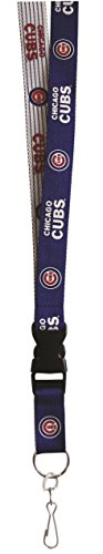 Pro Specialties Group MLB Chicago Cubs Two Tone Lanyard, Blue, One Size