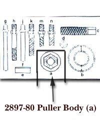 Kd Tools KDS289780 Puller Body For Kdt2897