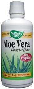 Aloe Vera Whole Leaf Juice/ 1L Brand: Natures Way (Liter 1 Way Natures)