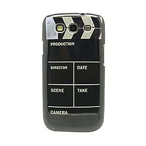 Modelo de la cámara IMD duro caso Craft para Samsung Galaxy S3 I9300