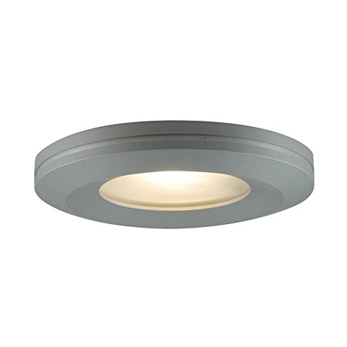 Edged Slim Disk - Jesco Lighting PK404BA Beveled-edged Slim Disk, Brushed Aluminum