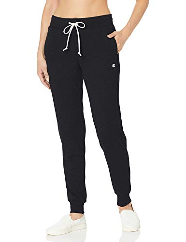 Champion Women's French Terry Jogger, Black, L
