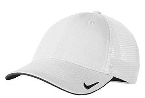 NIKE MESH BACK CAP GOLF HAT -889302-100-M/L ()