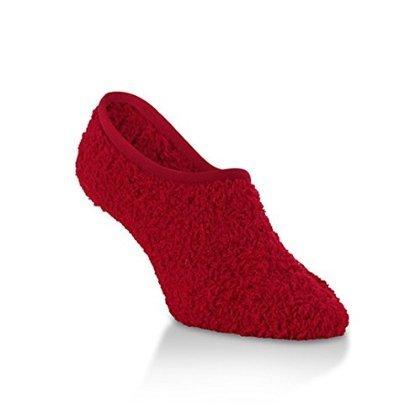 Apply Red Knit Socks Polka Candy Softest Footsie Women's Dot Game Worlds wqZz7Tv