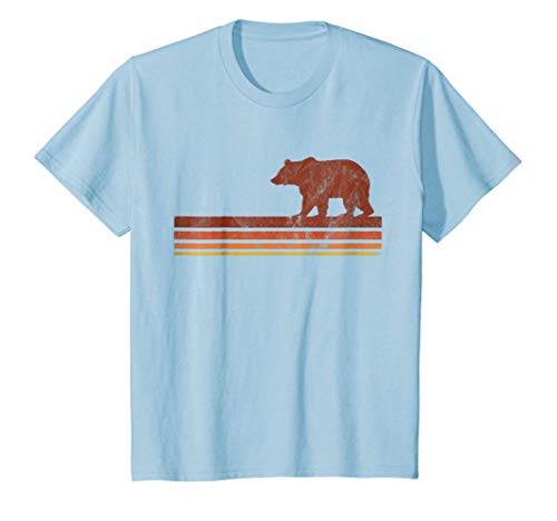Vintage Hipster Boho Bear California Mens Womens T-shirt