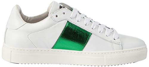 Stokton Da Donna 650-d Sneaker Bianco (bianco + Verde)