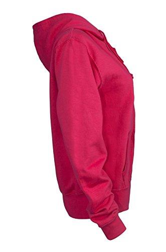 FFOMO Jordania 02 apliques brazo parche fucsia con capucha fucsia