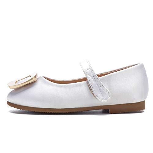 L@YC Zapatos De Mujer Formal Hebilla Redonda del Dedo del Pie Cerrado Boda Chunky/Hecho A Mano Black