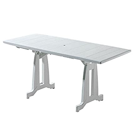 Evolutif - Table de jardin PERFECTA blanc