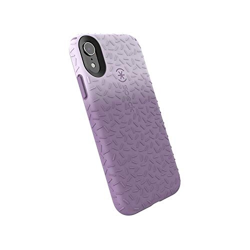 Speck Products CandyShell Fit iPhone XR Case, Whisper Ombre Lilac/Lilac Purple ()