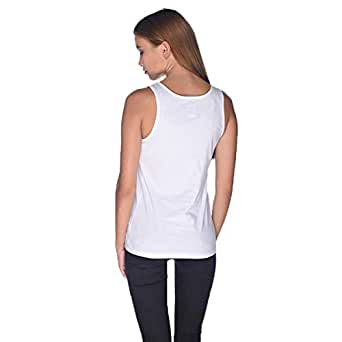 Creo Chopers Tank Top For Women - S, White