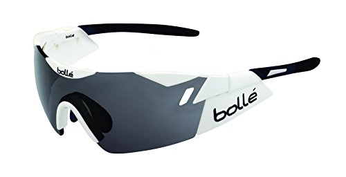 *Bolle 6th Sense 12162 Shiny White/Black Modulator Clear Gray oleo AF