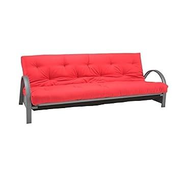 Innovation Schlafsofa Brussel Schlafcouch Bett Gaste Sofa Bett Rot