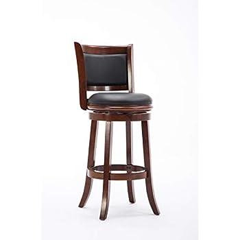 Amazon Com Boraam 43729 Florence Bar Height Swivel Stool