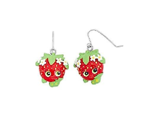 (Shopkins Strawberry Kiss Earring 2 Pc)