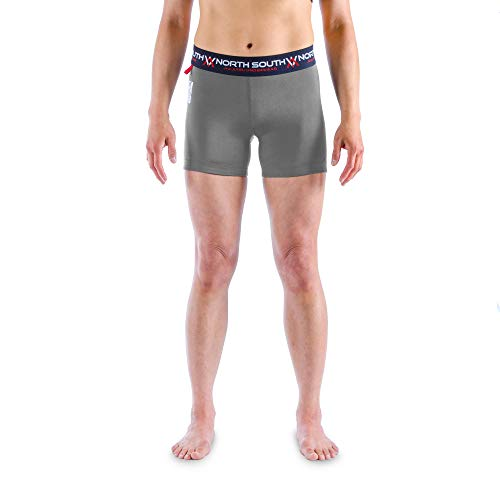 North South Jiu-Jitsu – Grappling Compression Women's Athletic Underwear/Shorts for BJJ (2 or 3 Pack)