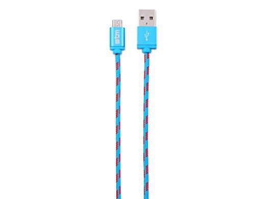 STM Elite Cable, Braided Micro USB Cable (1m) - Blue (stm-931-099Z-20) (Stm Cables Blue)