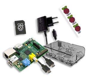 Kit de Inicio Raspberry Pi - Raspberry Pi modelo B Rev 2 512 ...