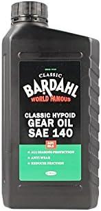 Bardahl Classic Hypoid Gear Oil Sae 140 Api Gl3 Olio Ingranaggi And Differentiali Monogrado 100 Minerals By Auto 1lt Auto