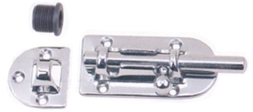 Perko 0947DP2CHR Chrome Marine Barrel Bolt (Perko Door Latch)