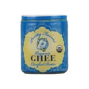 Purity Organic Ghee Clarified Butter 13 OZ (Pack of 24)
